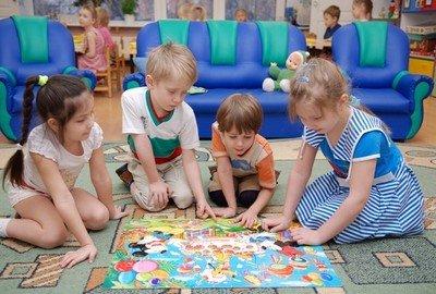 В дошкольном учреждении у ребенка появятся друзья