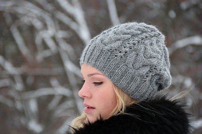 Вязаные шапки – модно и красиво!