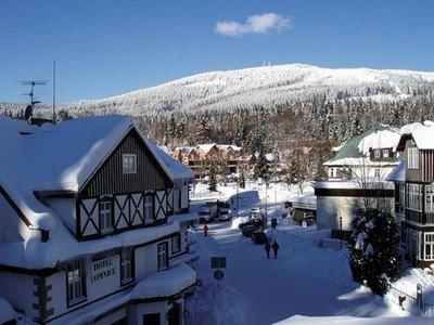 Зимние красоты Чехии