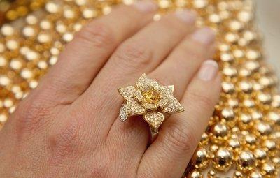 Золотое кольцо - подарок перед которым не устоит ни одна девушка