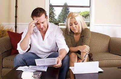 Финансовые проблемы в семье - частая причина разводов