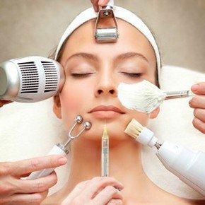 Методы чистки лица в салоне красоты