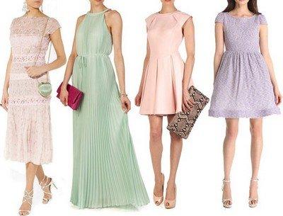 Платья пастельных оттенков - писк моды!