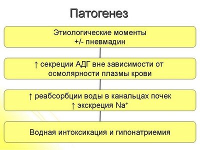 Этиопатогенез синдрома Пархона