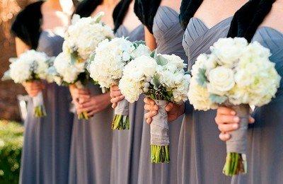 Проводим свадьбу 2014 в сером цвете