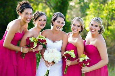 Как провести свадьбу в цвете фуксии?