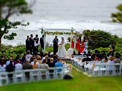 Минусы свадьбы на природе
