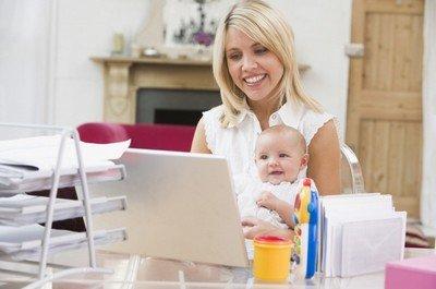 Заработок в Интернете для декретных мам
