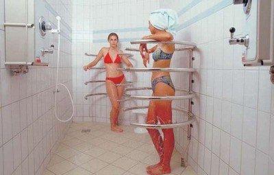 Циркулярный душ - водная альтернатива точечному массажу