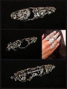 Кольца-бандаж на две фаланги от ювелирного завода «Золотой Век»