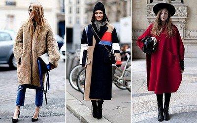 Стиль «oversize» в ультрамодных пальто сезона осень 2014