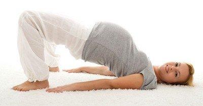 Комплекс упражнений перед родами