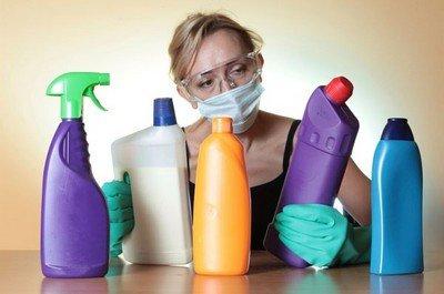 Чистящие средства - распространенные бытовые канцерогены