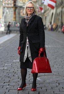 Как оставаться стильной в пожилом возрасте
