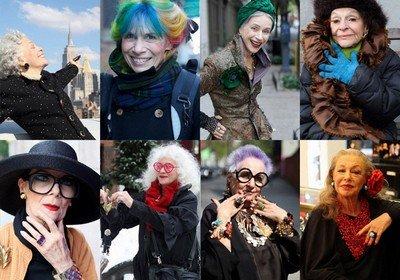 Стильные бабушки - мода пожилого возраста