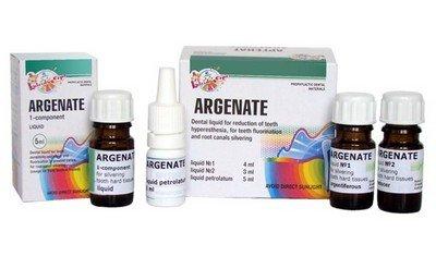 Препарат «Аргенат» для серебрения зубов