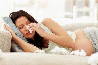 Простуда при беременности: Как лечить?