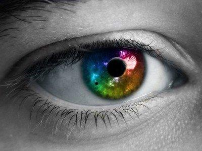Глаз способен воспринимать только 3 цвета
