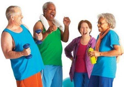 Правила занятий спортом в пожилом возрасте