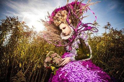 Карнавальный костюм для осеннего карнавала в Венеции