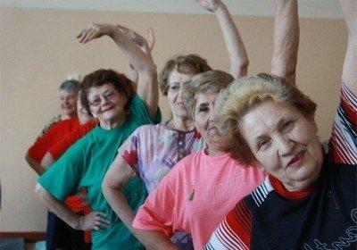 Разминка суставов в пожилом возрасте