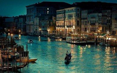 Венецию очень часто называют «Атлантида современности»