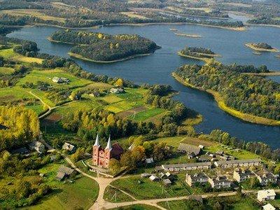 Браславские озера в Беларуси