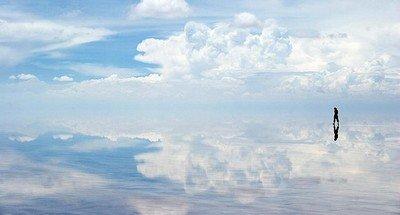 Солончак Уюни - огромная соленая пустыня