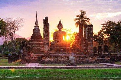Сукхотхай - древнейший город Таиланда