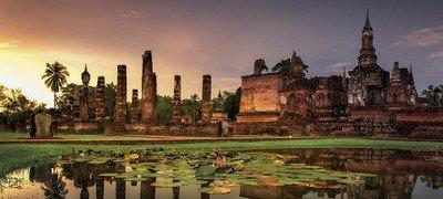 Красоты древнего города Сукхотхай