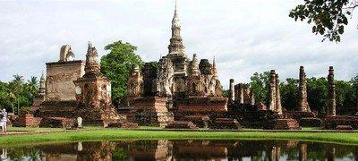 Сукхотхай - первая историческая столица Таиланда