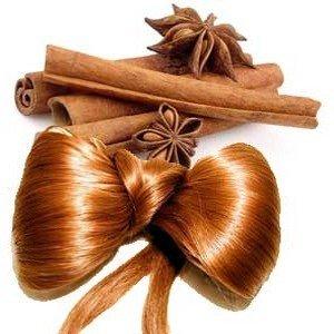 Маска с маслом корицы и ее порошком для густоты волос