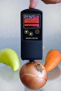 Нитратомер - прибор для определения концентрации нитратов в продуктах