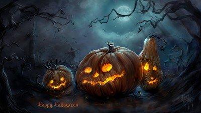 Скоро Хэллоуин - мрачный, но веселый праздник!