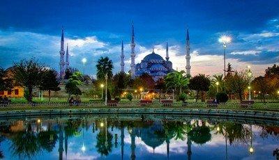 Стамбул - столица Турции