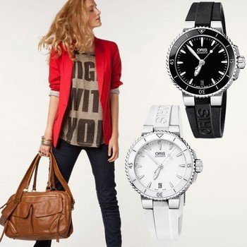 Роскошь и изысканность в мельчайших деталях - женские часы Oris
