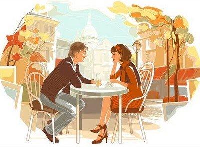 Романтический завтрак - один из лучших и недорогих способов провести первое свидание