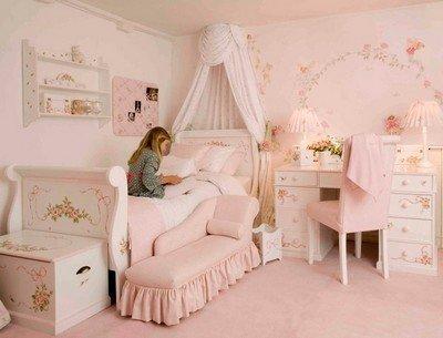 Какую выбрать мебель для девочки в комнату?