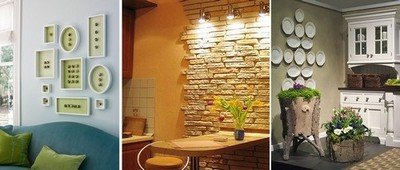 Декор на маленькой кухни поможет скрыть ее недостатки