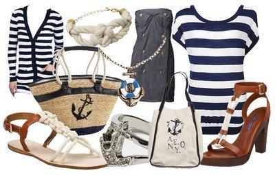 Морской стиль - популярный тренд 2015 года