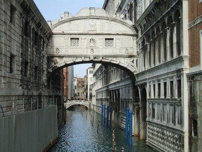 Мост Вздохов в Венеции - последний путь заключенных