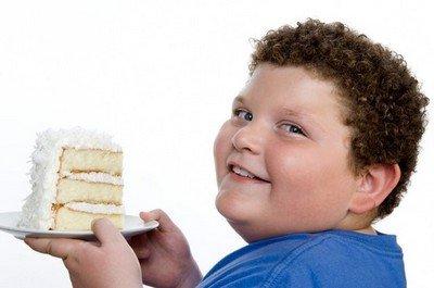 Сладкое - главный враг детского похудения