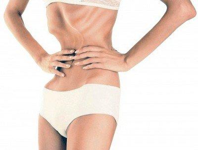 Неконтролируемая привычка худеть в медицине носит название анорексии