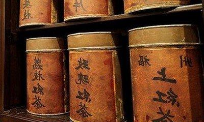 Хранение элитного китайского чая в банках