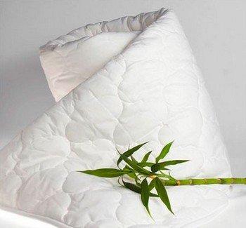 Отличным выбором для здорового сна является одеяло с бамбуковым наполнителем