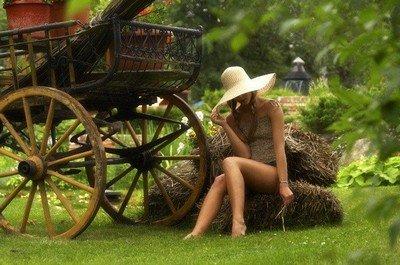 Отдых в деревне - покой и умиротворение