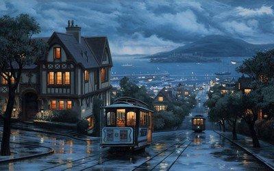 Кабельный трамвай в Сан-Франциско