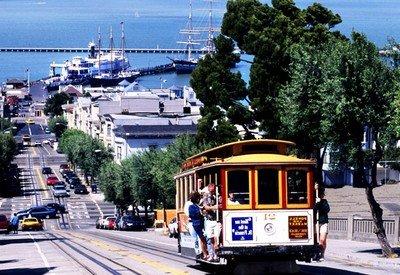 Знаменитый на весь мир трамвай в Сан-Франциско