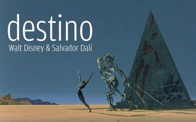 Мультфильм «Дестино», над которым Уолт Дисней работал вместе с Сальвадором Дали