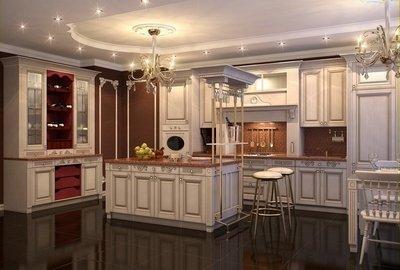 Роскошь и сдержанность классического дизайна кухни